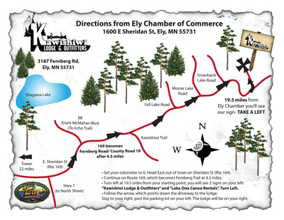 Contact Us Lake OneEly Outfitters Canoe Rentals In The - Us map showing boundary waters minnesota